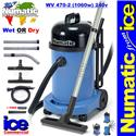 Numatic WV 470-2 Wet or Dry Commercial Vacuum Cleaner