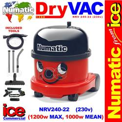 Numatic NRV 200-22 Vacuum Cleaner (1200w, commercial Henry HVR 200A)