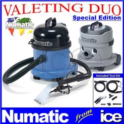 Numatic Car Valeting Duo CT370-2 & NVH 200 Vacuum Cleaning Machines Equipment Package CT370 CT 370 NVH200