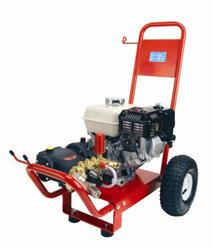 ICE-PW150/13 Honda GX200 Petrol Interpump Gearbox Pressure Washer 150 Bar, 13 L/min