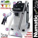 Numatic CTT 470-2 CTT470 CTT470-2 Spray Extraction Carpet & Upholstery Cleaner